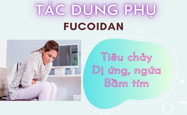 Sử dụng Fucoidan quá liều có thể gây ra tình trạng tiêu chảy