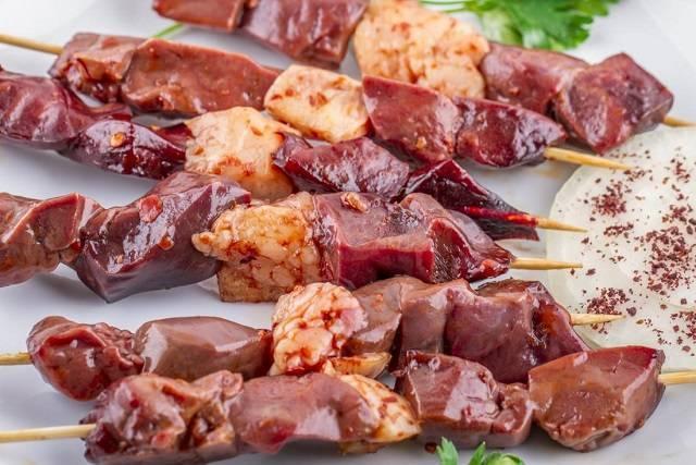 Bị bệnh ung tuyến giáp kiêng ăn gì - Kiên thực phẩm từ nội tạng động vật
