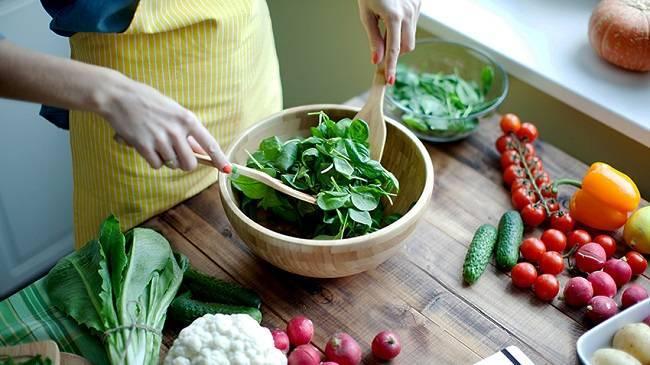 Ung thư phổi ăn nhiều hoa quả và rau xanh